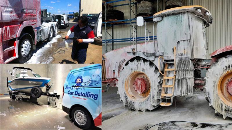 Trucks, Caravans, Boats     - JimsCleaning com au