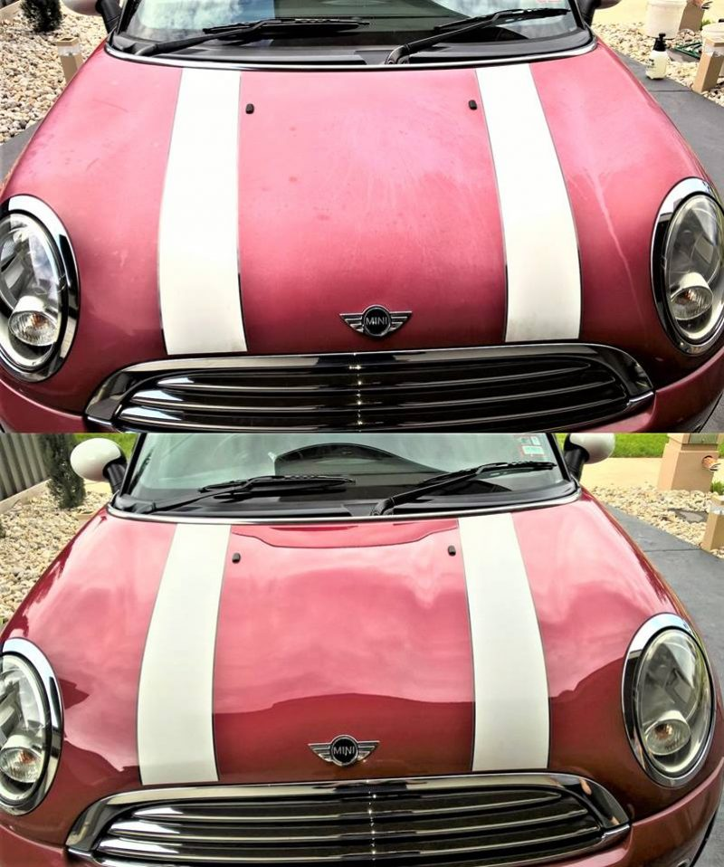 Take years off a car with a paint restoration service