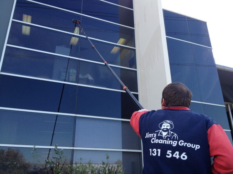 Professionally clean windows