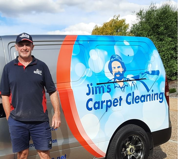 Chat with your local expert: Jim's Carpet Cleaning